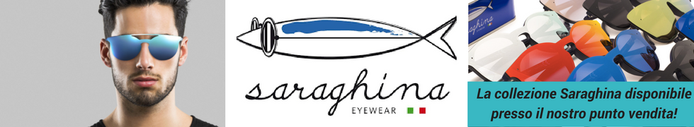 Rivenditore ufficiale Saraghina Eyewear